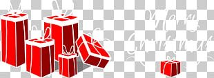 Gift Red Christmas PNG