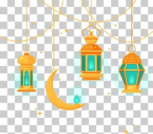 Islamic Architecture Chandelier PNG