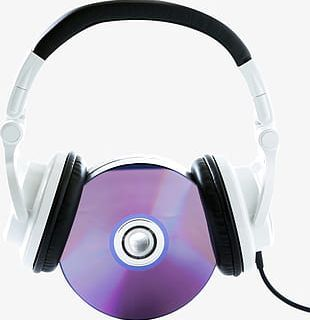 Musical Elements Headset Cd Discography PNG