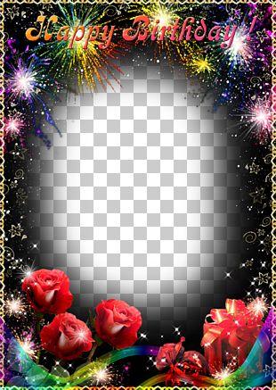 Birthday Frame Film Frame PNG