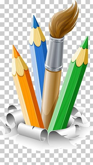 Pencil Brush Drawing PNG