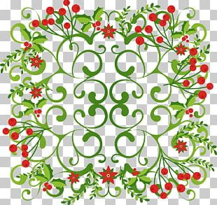 Floral Decorative Shading PNG