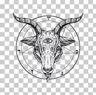 Goat Drawing Baphomet Satanism PNG