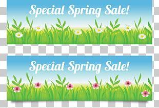 Season Web Banner Spring Sales PNG