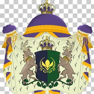 Elsa Anna Coat Of Arms Crest Mantle And Pavilion PNG