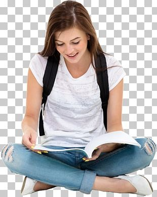 Student Reading Book Education College PNG