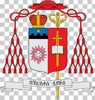 Catholicism Cardinal Bishop Coat Of Arms Christian Cross PNG