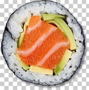 Sushi Slice PNG