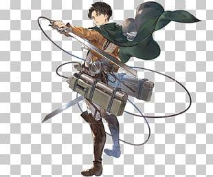 Granblue Fantasy Eren Yeager Mikasa Ackerman Armin Arlert Levi PNG