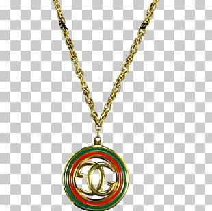 Necklace Charms & Pendants Jewellery Gucci Gold PNG