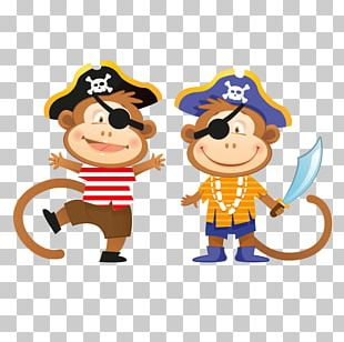 Piracy Sticker Decal Child PNG