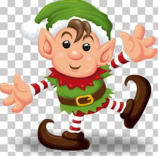 Santa Claus Christmas Elf PNG