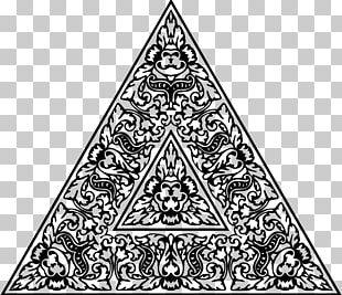 Triangle Visual Arts Drawing PNG