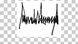 President Of The United States Signature Handwriting Republican Party PNG