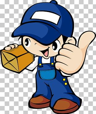 Courier Delivery PNG