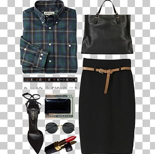 Fashion Tartan Woman Skirt Clothing PNG