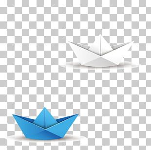 Paper Origami Boat PNG