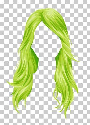 Stardoll Wig Hair Coloring Long Hair PNG