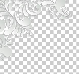 Text Ornament Pattern PNG