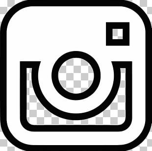 White Logo Instagram Photography PNG