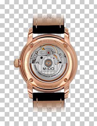 Automatic Watch Tissot Mido Pontiac PNG