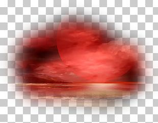 Sunset Landscape Painting .de Night Text PNG