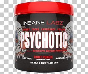 Dietary Supplement Psychosis Pre-workout Nutrition Insanity PNG