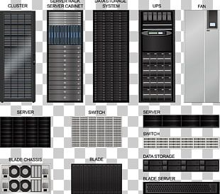 Server Room 19-inch Rack Data Center PNG
