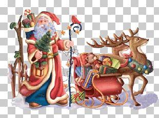 Santa Claus Christmas Day New Year Saint Nicholas Day Desktop PNG
