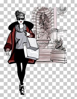 Fashion Woman Illustration PNG