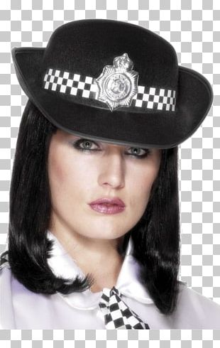 Police Officer Costume Party Woman Bachelorette Party Hat PNG