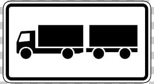 Car Traffic Sign Truck Onderbord Trailer PNG