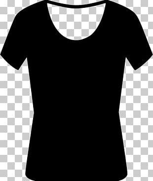 T-shirt Shoulder Sleeve White Font PNG