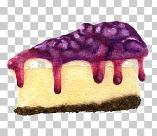 Cheesecake Blueberry Pie PNG
