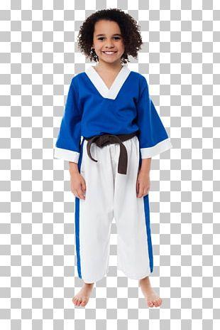 Karate Gi Dobok Sport Boy PNG