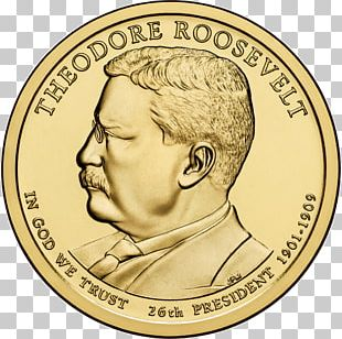 United States Of America Presidential $1 Coin Program Uncirculated Coin Dollar Coin United States Mint PNG
