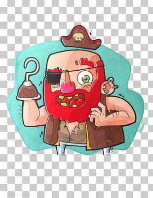 Cartoon Piracy Illustration PNG