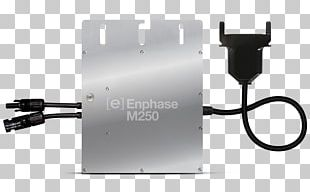 Solar Micro-inverter Enphase Energy Solar Panels Power Inverters Grid-tie Inverter PNG