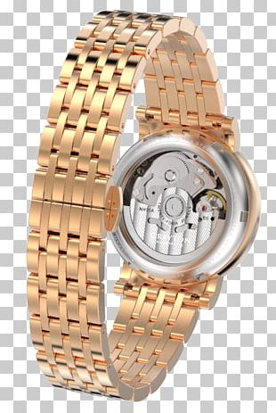 Automatic Watch Bracelet Watch Strap Mechanical Watch PNG