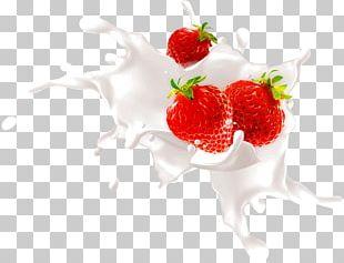 Strawberry Milkshake Frutti Di Bosco PNG