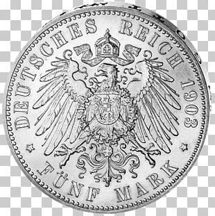 German Empire Kingdom Of Prussia Saxony Coin Saxe-Meiningen PNG