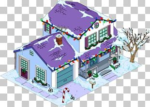 The Simpsons: Tapped Out Christmas Decoration Santa Claus Home PNG