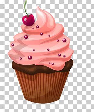Muffin Cupcake Christmas Cake Birthday Cake PNG