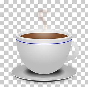 Coffee Cup Tea Breakfast Cafe PNG