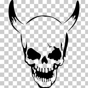 T-shirt Skull Horn Spreadshirt Skeleton PNG