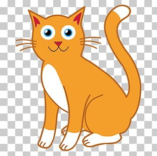 Cat Open Free Content Drawing PNG