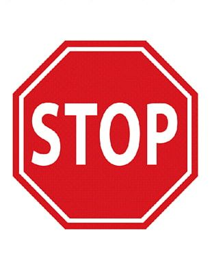 Stop Sign Car Traffic Sign PNG