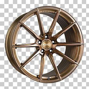 Car Vertini Wheels Custom Wheel Forging Bronze PNG