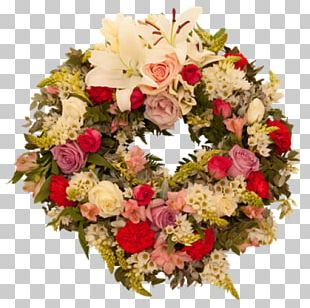 Floral Design Wreath Flower Bouquet Cut Flowers Artificial Flower PNG