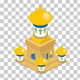 Cartoon Castle Palace Illustration PNG